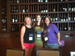 Fun times at Authors After Dark 2014 with Author Jettie Nicole(center) and Lisa.
